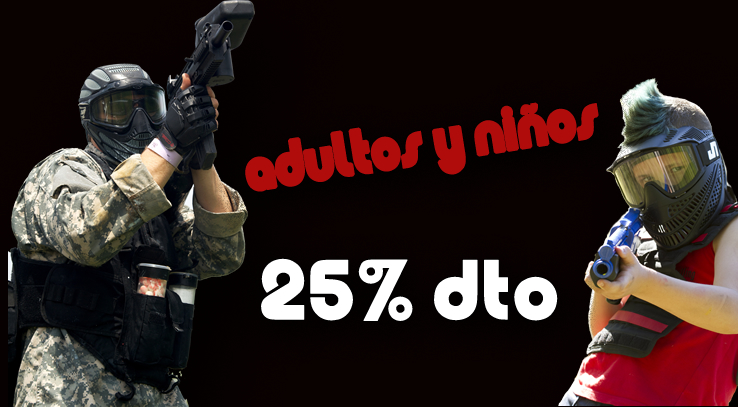 centro web paintball talavera adultos menores