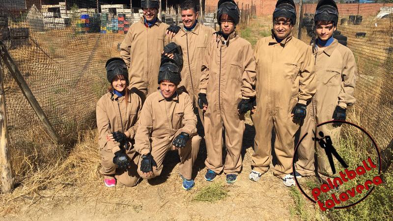 Paintball Talavera - Sesion de Trabajo en equipo con la SER