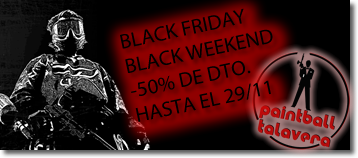 Black Friday en Paintball Talavera