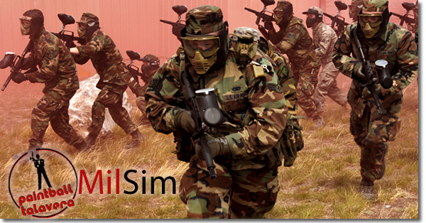 Milsim - Paintball Talavera